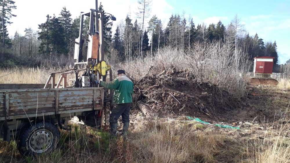 Геологические изыскания под котельную Николо-Урюпино